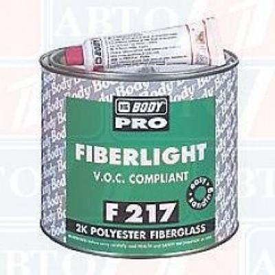 шпатлевка body pro f 217 fiberlight
