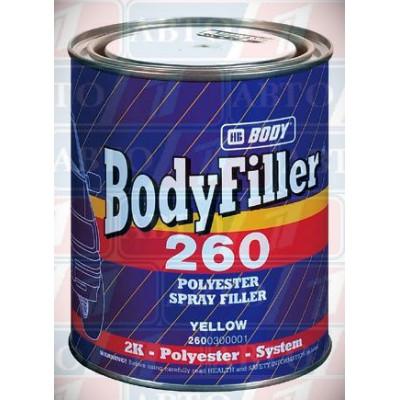Купть жидкая шпатлевка body боди 260 - жидкая шпатлевка body боди 260  в нашем интернет магазине