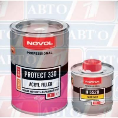 Купть novol protect 330 грунт акриловый  5+1 новол трио - novol protect 330 грунт акриловый  5+1 новол трио  в нашем интернет магазине