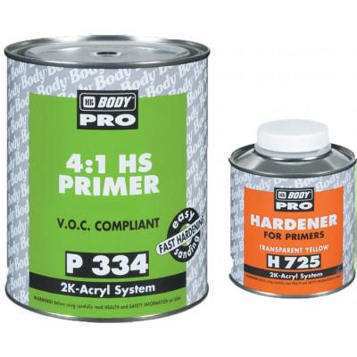 Купить body pro 334 hs 4:1  2к автомобильный грунт - body pro 334 hs 4:1  2к автомобильный грунт  в нашем интернет магазине