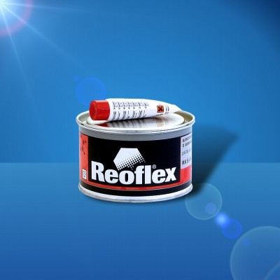 Шпатлевка с алюминием alumet soft reoflex