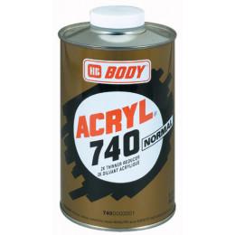 Купть разбавитель body 740 acryl normal - разбавитель body 740 acryl normal  в нашем интернет магазине