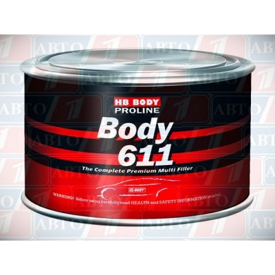 Купть шпатлёвка body 611 - шпатлёвка body 611  в нашем интернет магазине