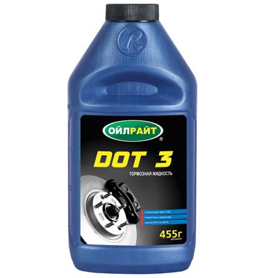 Купить dot 3 тормозная жидкость oilright - dot 3 oilright  в нашем интернет магазине