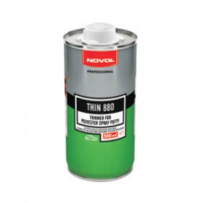 Купить novol thin 880 разбавитель для жидкой шпатлевки - novol thin 880  в нашем интернет магазине