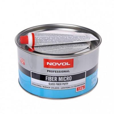 Купить fiber micro novol шпатлевка со стекловолокном - fiber micro novol  в нашем интернет магазине