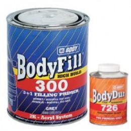 Купить body 300 грунт наполнитель - body  300  3+1 2К грунт  наполнитель  в нашем интернет магазине