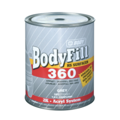 Body 360 HS 2:1 2K грунт наполнитель