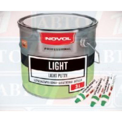 novol light шпатлевка легкая новол