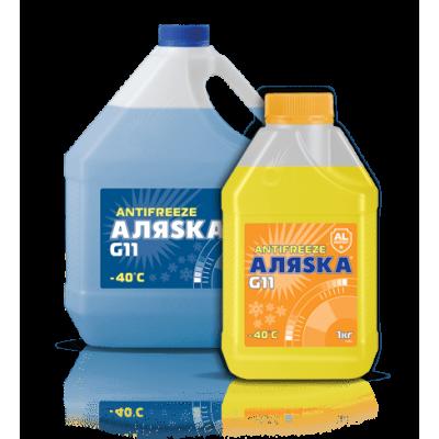 Купить антифриз Аляска -40 blue синий G11 - антифриз Аляска -40 blue синий g11  в нашем интернет магазине