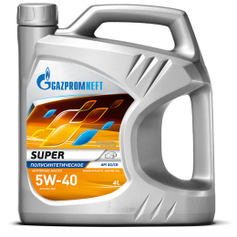 Купить масло Gazpromneft Super 5W-40 API SG/CD - масло gazpromneft super 5w - 40  в нашем интернет магазине
