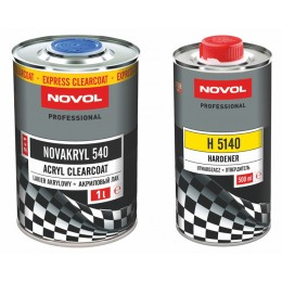 Купить novakryl 540 ms 2+1  акриловый лак - novol novakryl 540 бесцветный акриловый лак 2+1  новол  в нашем интернет магазине